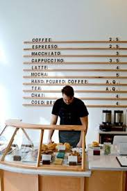 how to start an interior design business menu board at passenger coffee s new coffee bar tea room