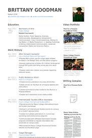 Camp Counselor Resume Sample by Counselor Resume Samples Visualcv Resume Samples Database