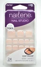 nadeco pesson manicure false nails golden flash 24 nails covers 12