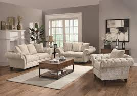 willow sofa in oatmeal fabric by coaster w options