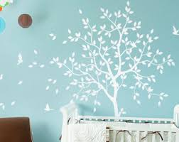 White Tree Wall Decal Nursery White Birch Tree Wall Decal For Nursery Thenurseries