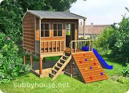 Backyard Playground Plans by Best 25 Cubby House Kits Ideas On Pinterest Diy Playhouse Kids