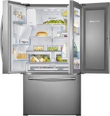 samsung rf28hdedtsr 27 8 cu ft french door refrigerator with 5