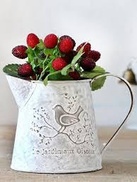 Metal Jug Vase Amazon Com Vancore French Style Shabby Chic Mini Metal Pitcher