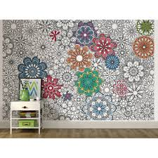 manificent design coloring wall murals attractive inspiration 25
