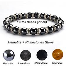 magnetic stone bracelet images Cat eye jewels healing energy beads stretch bracelets magnetic jpg