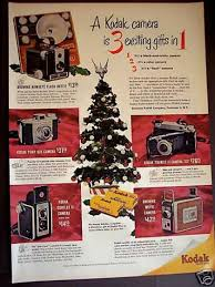vintage xmas advertisements of the 1950s