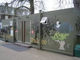 luxury toilet block for kensington palace case study