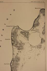 Lake Michigan Beaches Map by Beaches Of Sleeping Bear Dunes National Lakeshore Michigan By