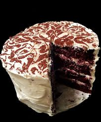 a profound hatred of meat red velvet cake with cream cheese frosting