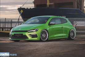 dark green volkswagen radi8 r8a10 wheel 19