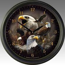 themed clock rustic clocks american expedition