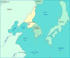 russia map border countries map of korea