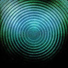 Blau Schwarz Muster Zusammenfassung Kreise Hintergrund Rot Und Schwarz Ziel Formen In