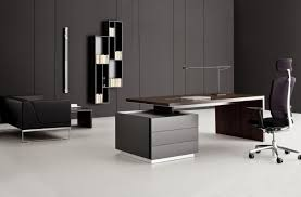 living room white minimalist office desk home design concept photo