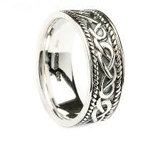 types of mens wedding bands wedding rings tungsten celtic ring types of celtic knots
