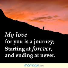 wedding quotes journey my for you is a journey starting marriage quotes