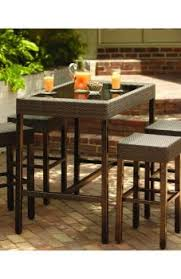Patio High Dining Set High Patio Dining Set End Outdoor Chairse Sets Back Quality Top