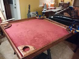 diy indoor games diy game table album on imgur