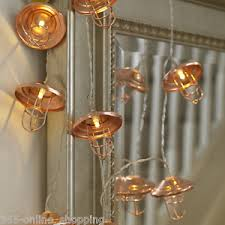 led lantern string lights 10 rose gold mini cage lantern string lights with shaped led