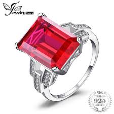 red emerald rings images Jewelrypalace luxury emerald cut 9 2ct created red ruby cocktail jpg