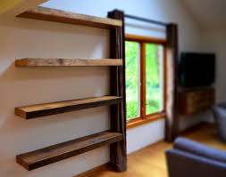 Plans For Wooden Shelf Brackets by Accessories Pretty Floating Shelf Design Furniture Idea Decor