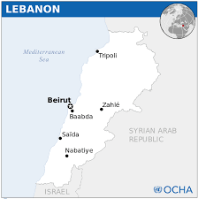 Lebanon Hills Map Lebanon Map