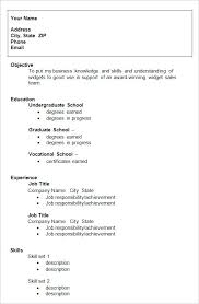 formats for resume 10 college resume templates free sles exles formats for