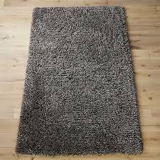 long shag rug puli grey shag rug cb2