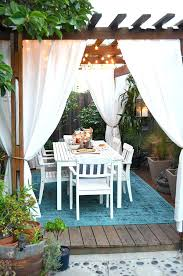 Outdoor Winter Curtains Enchanting Outdoor Winter Curtains Ideas With Outdoor Winter
