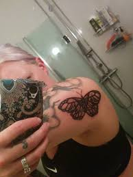 25 unique skull butterfly tattoo ideas on pinterest mens arm