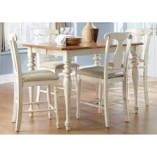 liberty furniture ocean isle 5 pc counter height set with splat