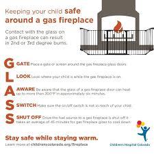 Fireplace Child Safety Gate by Glass Door Fireplace Safety Children U0027s Hospital Colorado