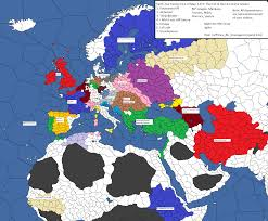 World War 1 Political Map by Political Map Mode From Saturdays Mp Game World War One Aar In