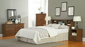 Sauder Bedroom Furniture Sauder Oak Furniture Collection Orchard Hills Oak Bedroom