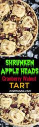 halloween dinner party ideas for adults shrunken heads halloween apple cranberry walnut tart recipe