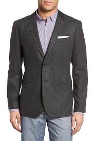 ted baker london austin woven two button notch lapel modern trim