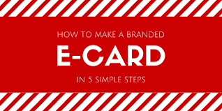 e card how to make a branded ecard