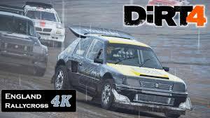 peugeot england dirt 4 2017 rallycross heavy rain gameplay peugeot 205 turbo t16