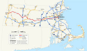 Green Line Map Boston by Massachusetts Route 9 Wikipedia