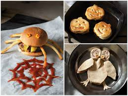 spooky sandwiches halloween treats