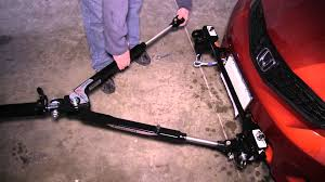 installation of a roadmaster tow bar on a 2012 honda fit