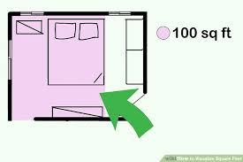 square footage visualizer 3 ways to visualize square feet wikihow