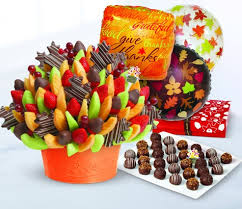 the load this thanksgiving with edible arrangements