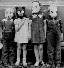vintage masks 25 creepy vintage photos
