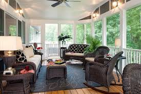 Ideas For Decorating A Sunroom Design Decorations Smart Summer Decorating Idea Of A Sunroom With Black