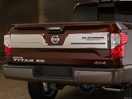 nissan platinum 2016 2016 nissan titan xd platinum reserve rear hd wallpaper 32