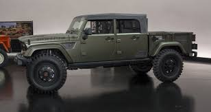 jeep truck 2016 2016 jeep crew chief concept jeeps jeeps