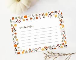i am thankful for card printable thanksgiving printables