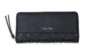 Tas Calvin Klein calvin klein misha medium trifold damen portemonnaie schwarz